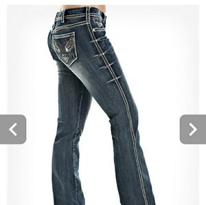 """Cowgirl Tuff """"Wings of Freedom"""" jeans"""